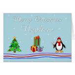 Xmas nephew greeting card