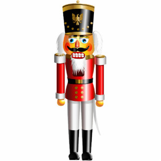 Xmas Nutcracker Photo Sculpture Magnet
