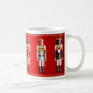 Xmas Nutcrackers Army Cartoon Coffee Mug