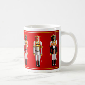 Xmas Nutcrackers Classic White Coffee Mug