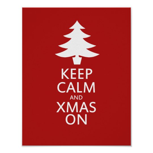 Xmas on poster