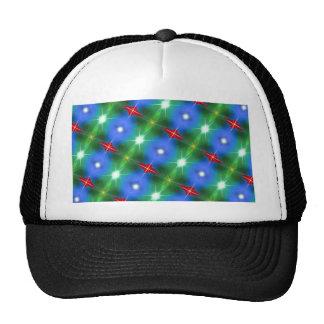 Xmas Pattern Mesh Hat