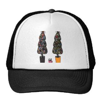 Xmas pattern swatches design trucker hat