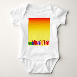 Xmas Presents Baby Bodysuit