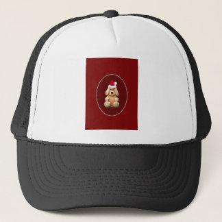 Xmas Puppy Trucker Hat
