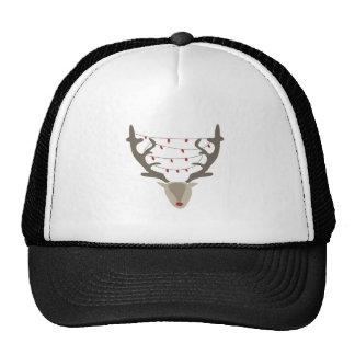 Xmas Reindeer Trucker Hat