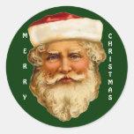 Xmas Santa Claus Christmas Season Stickers