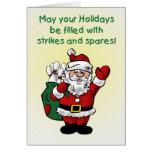 Xmas Santa Greeting Card