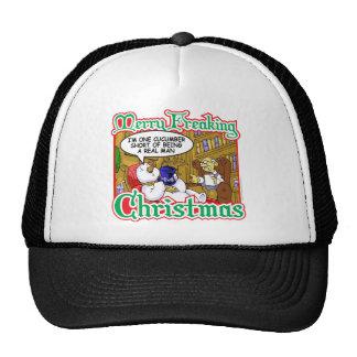 Xmas Snowman Trucker Hats