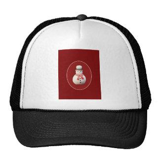 Xmas Snowman Mesh Hats
