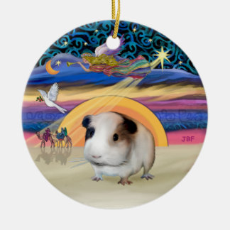 Xmas Star - Guinea Pig #1 Christmas Ornament