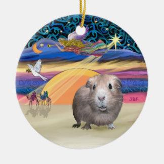 Xmas Star - Guinea Pig #2 Christmas Ornament