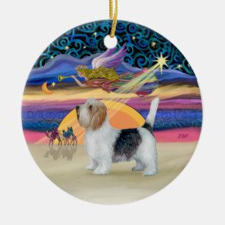 Xmas Star - Petit Basset 9 Ornament