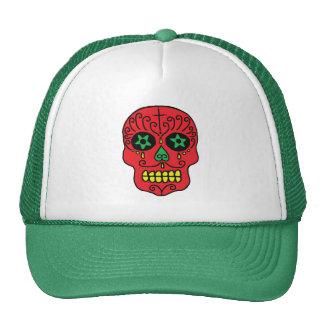 Xmas Sugar Skull Cap