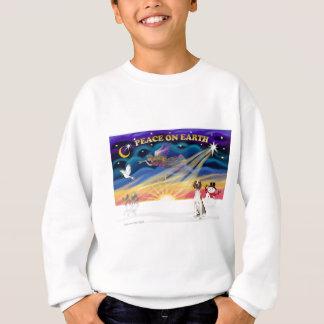 Xmas Sunrise - American Foxhound 1 Sweatshirt