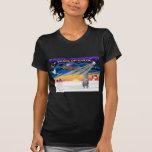 Xmas Sunrise - Scottish Deerhound Tee Shirt