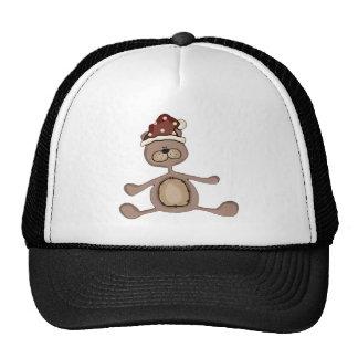 Xmas Teddy Bear Cap