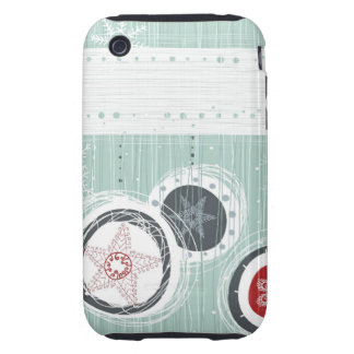 Xmas Tough iPhone 3 Cases