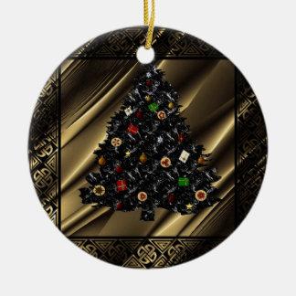 """Xmas Tree Magic"" tree ornament.* Christmas Ornament"