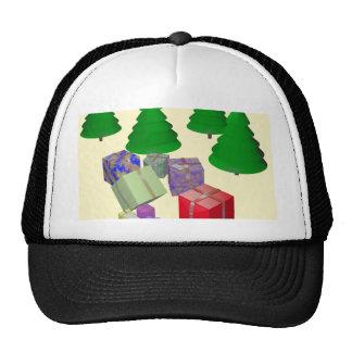 Xmas Trees Trucker Hat