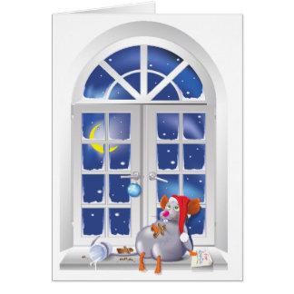 Xmas Window Greeting Cards