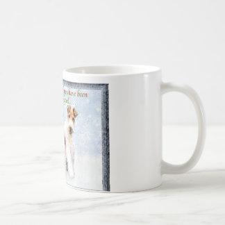 Xmas Wires Basic White Mug