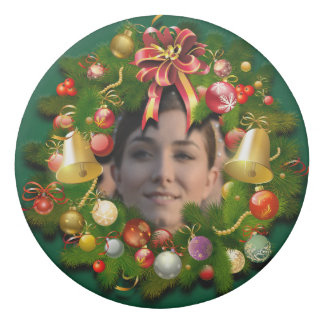 Xmas Wreath Customized With Your Own Picture Eraser