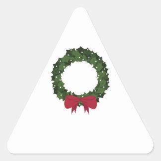 Xmas Wreath Sticker