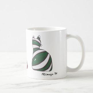 XmasStockingCats Basic White Mug
