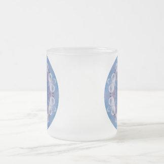 Xmax Mandala Frosted Glass Coffee Mug