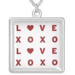 XO Love Valentine Necklace