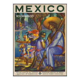 Xochimilco Poster