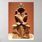 Xochipilli, Aztec God of Music Poster