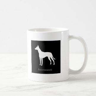 Xoloitzcuintli (Mexican Hairless Dog) Mug (Black)