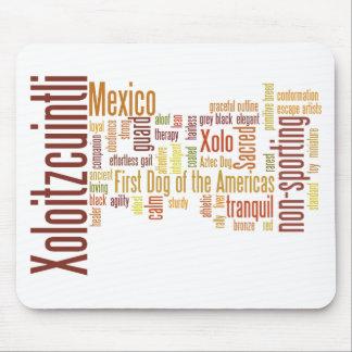Xoloitzcuintli Mouse Pad