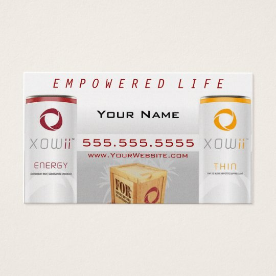 Xowii Distributor Business Card