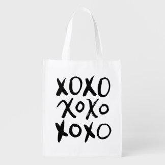 XOXO | Black Brush Script
