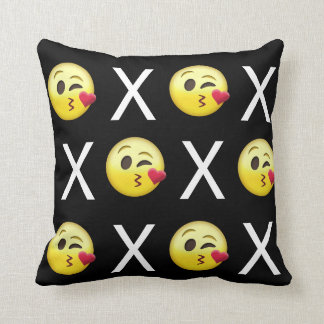 """XOXO"" Emojis Cushion"