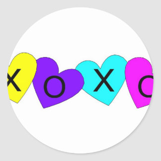 XOXO Hearts Sticker
