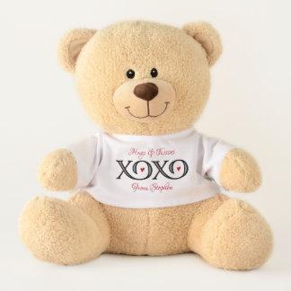 XOXO Hugs & Kisses Teddy Bear