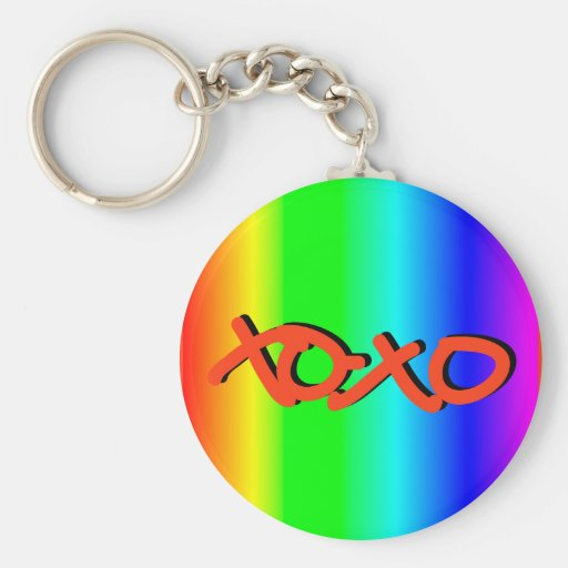 XOXO KEY CHAINS