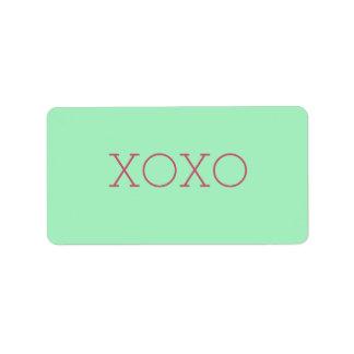 XOXO Labels