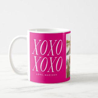 XOXO Love in Hot Pink   Mug