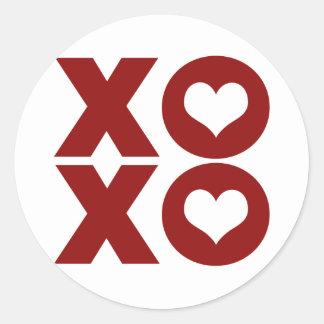 XOXO Love Valentine's Day Sticker