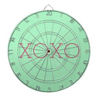 XOXO Metal Cage Dartboard