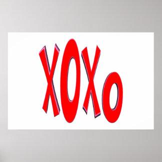 XOXO POSTERS