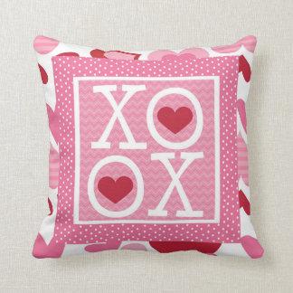 XOXO Valentine Love Gifts Throw Cushion