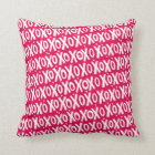 XOXO Valentine's Day Pillow