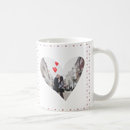 XOXO With Hearts Photo Coffee Mug