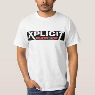 Xplicit BORN 2 DIE T-Shirt